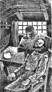 Tegning af Ib Spang Olsen